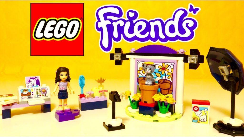 Lego Friends Studio Photos pour Animaux Emma et Chat Jouets pour enfants en français