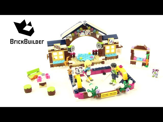 Lego Friends 41322 Snow Resort Ice Rink – Lego Speed Build