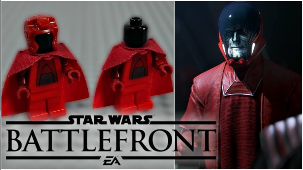 LEGO Star Wars Battlefront – Palpatine's Contingency Sentinel Droid Minifigure Review