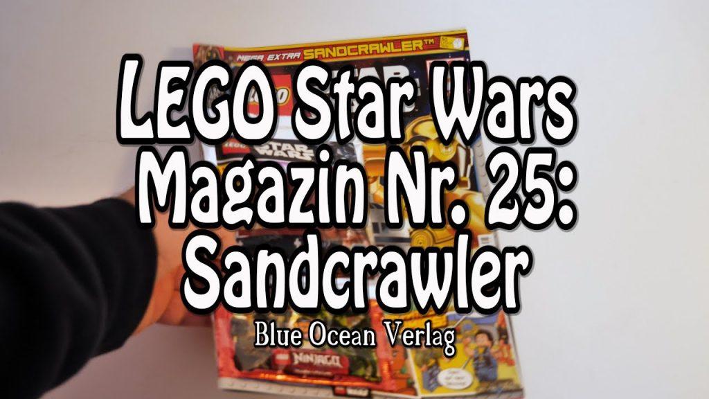 Review: LEGO Star-Wars-Magazin Nr. 25 mit Sandcrawler (Test in 4K)