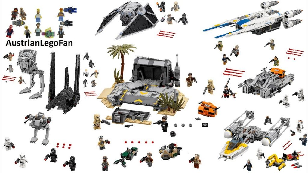 All Lego Star Wars Rogue One Sets so far ( june 2017 ) – Lego Speed Build Review