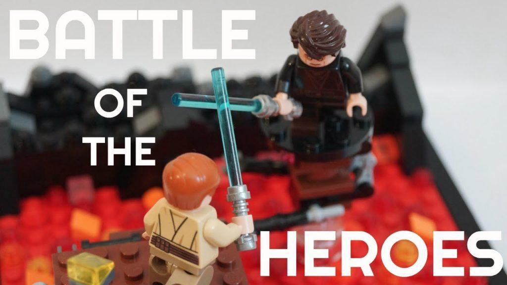[MOC] LEGO STAR WARS – THE FLOOR IS LAVA