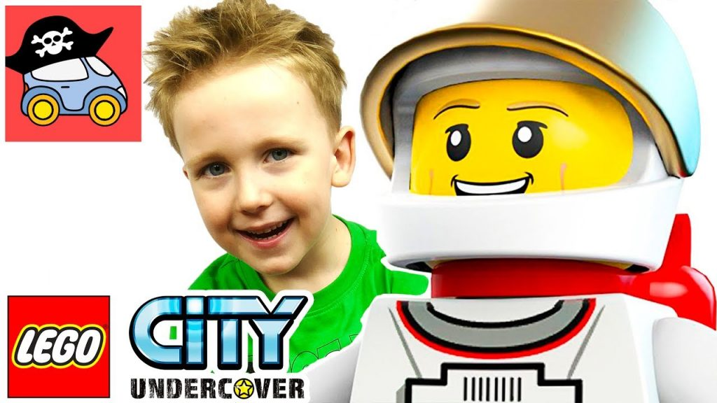 🚓 Lego City Undercover #16 УГНАЛИ ЛУНОХОД в Лего Сити Андерковер Прохождение на PS4 Жестянка