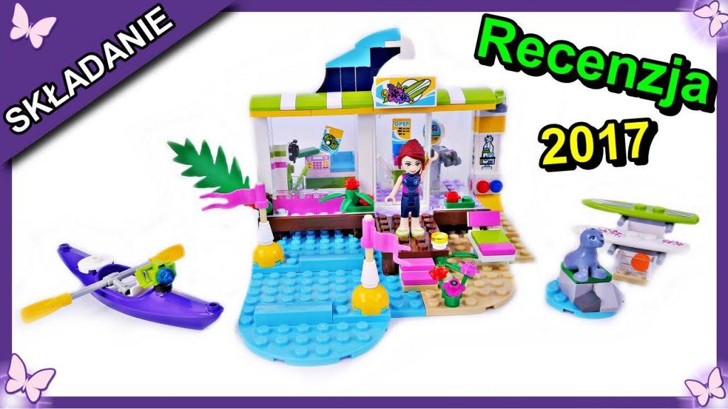 Sklep dla Surferów w Heartlake – klocki Lego Friends 41315 Budowanie Recenzja