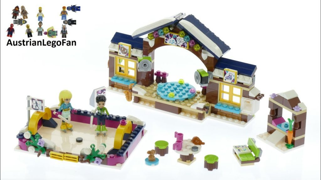 Lego Friends 41322 Snow Resort Ice Rink – Lego Speed Build Review