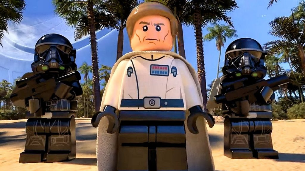LEGO Star Wars 2017 animation MICROFIGHTERS