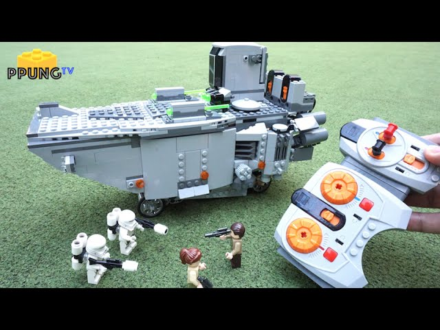LEGO Star Wars 75103 – RC Motorized First Order Transporter review by 뿡대디