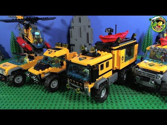 LEGO City ALL Jungle Vehicles