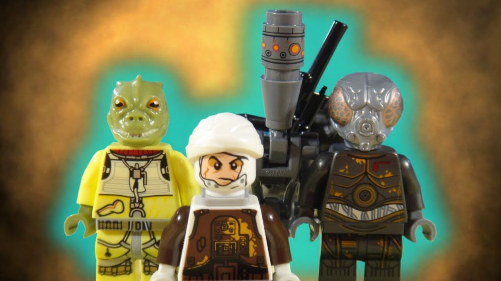 LEGO STAR WARS – BOUNTY HUNTER BATTLE