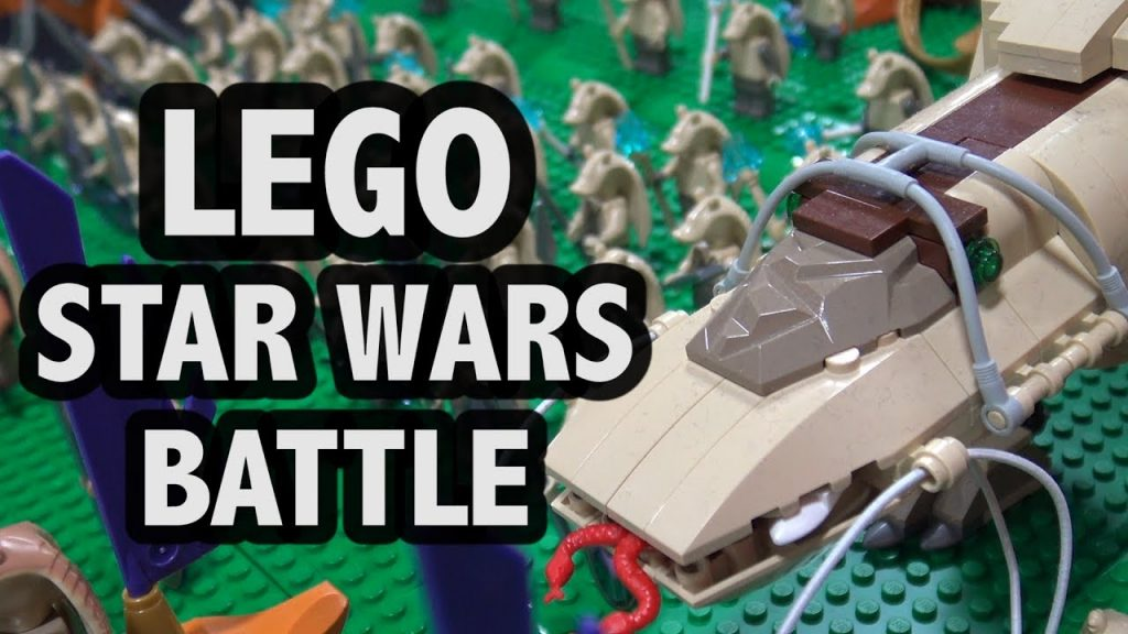 LEGO Battle of Great Grass Plains / Battle of Naboo | Star Wars
