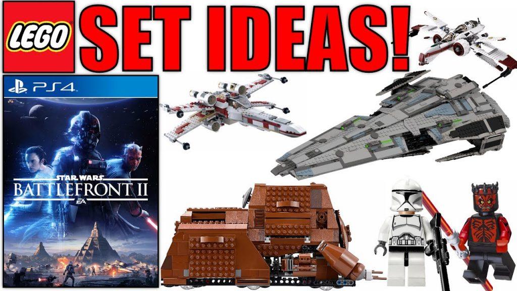 LEGO Star Wars Battlefront 2 Set Ideas! (2018/2019 LEGO Star Wars Set Ideas!)