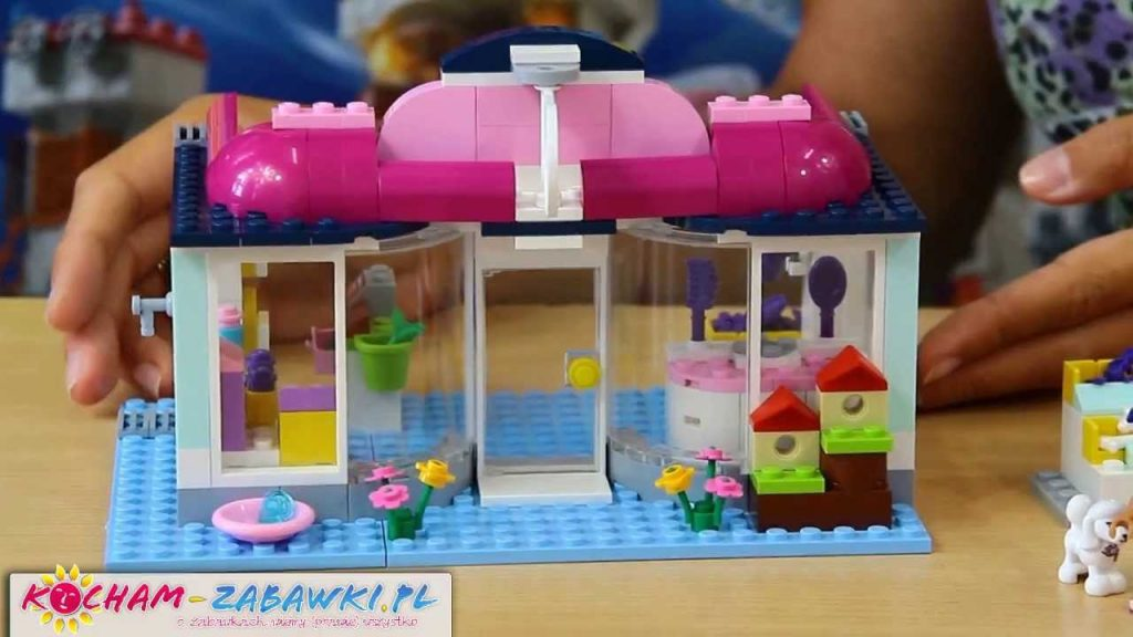 Heartlake Pet Salon / Salon Dla Zwierząt W Heartleake – Bricks Set – Lego Friends – 41007