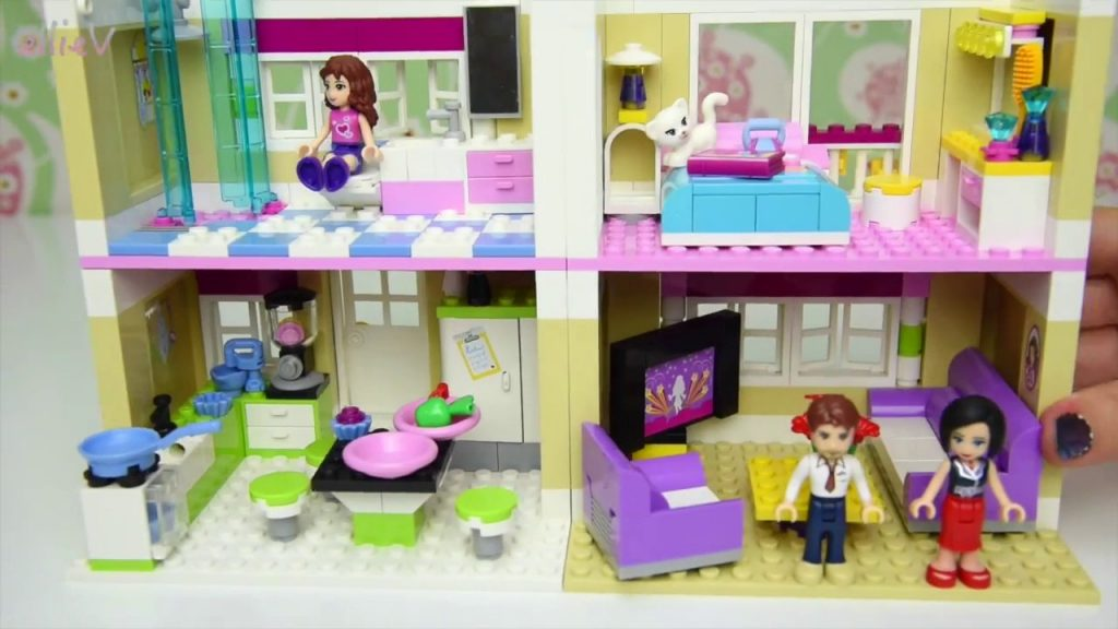 Lego Friends Olivia's House Set Building Review Play – Kids Toys