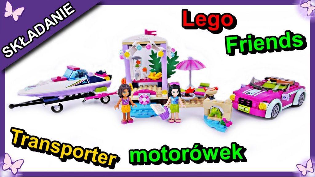 Transporter motorówek Andrei – klocki Lego Friends 41316 Budowanie Recenzja