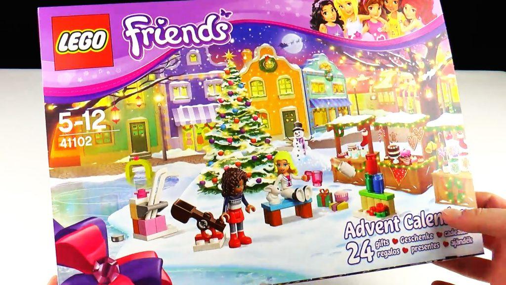 Лего Френдс Новогодний Календарь Лего Друзья Обзор Lego Friends 41102