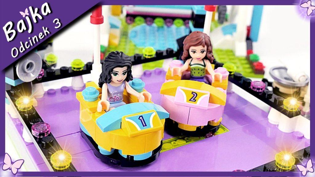 Przygoda Emmy i Oliwii w Parku Rozrywki – Bajka po polsku z klockami Lego Friends odc.3