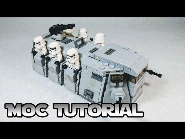 LEGO Imperial Troop Transport V2 TUTORIAL (Rebels) – A LEGO Star Wars MOC Tutorial!