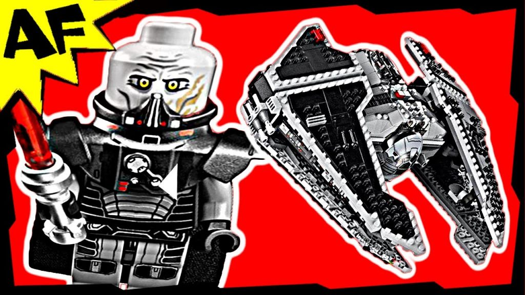 SITH FURY Class Interceptor 9500 Lego Star Wars Animated Building Review