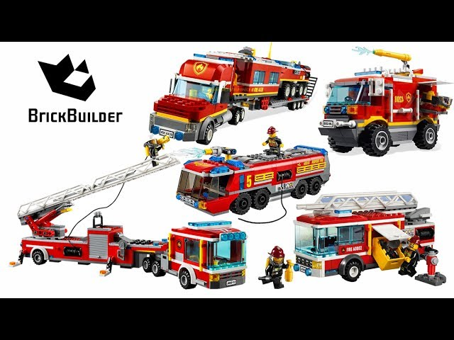 Top 5 LEGO City Fire Truck – Lego Speed Build