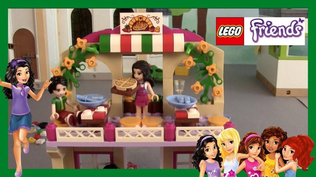 LEGO Friends 41311 – Heartlake Pizzeria – DEMO – UNBOXING – deutsch -auspacken