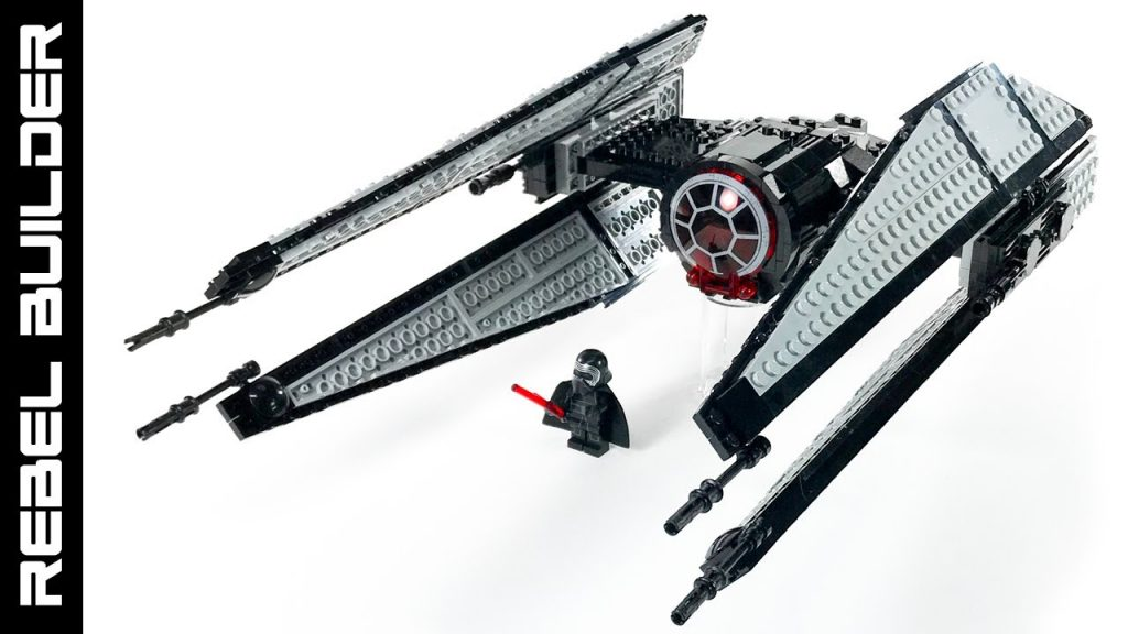 Kylo Ren's Starfighter from Star Wars The Last Jedi LEGO MOC!
