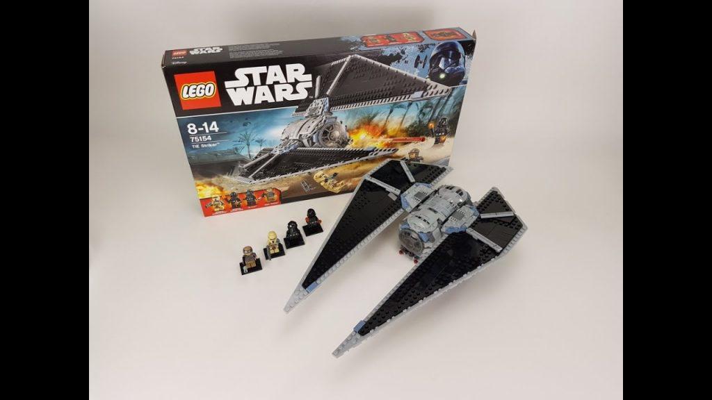 LEGO Star Wars Rogue One Set 75154 TIE Striker Unboxing & Review deutsch