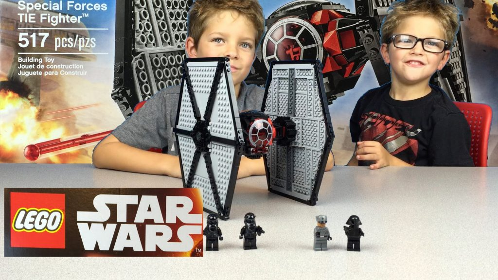 Lego Star Wars First Order Special Forces TIE Fighter 75101 Build and Review
