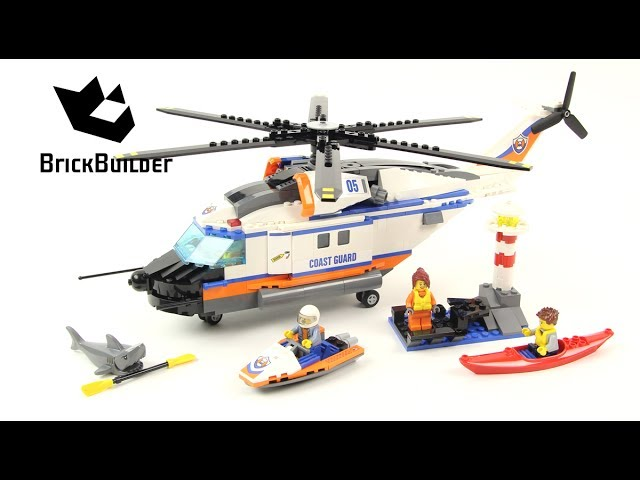Lego City 60166 Heavy-Duty Rescue Helicopter – Lego Speed Build