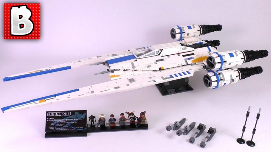 LEGO Star Wars U-Wing Ultimate Collector Series MOC Review!!! 3000+ parts! Designer: Mirko Soppelsa