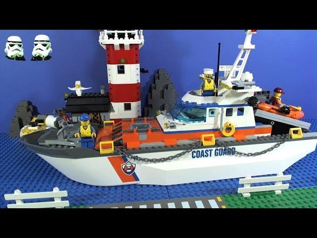 LEGO City Coast Guard ALL Vehicles