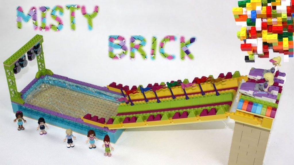 Lego Friends Water Slide by Misty Brick.