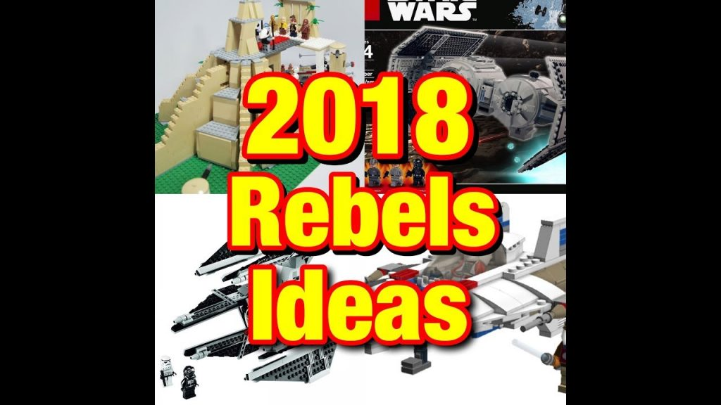LEGO Star Wars 2018 Star Wars Rebels Season 4 Sets and Ideas!