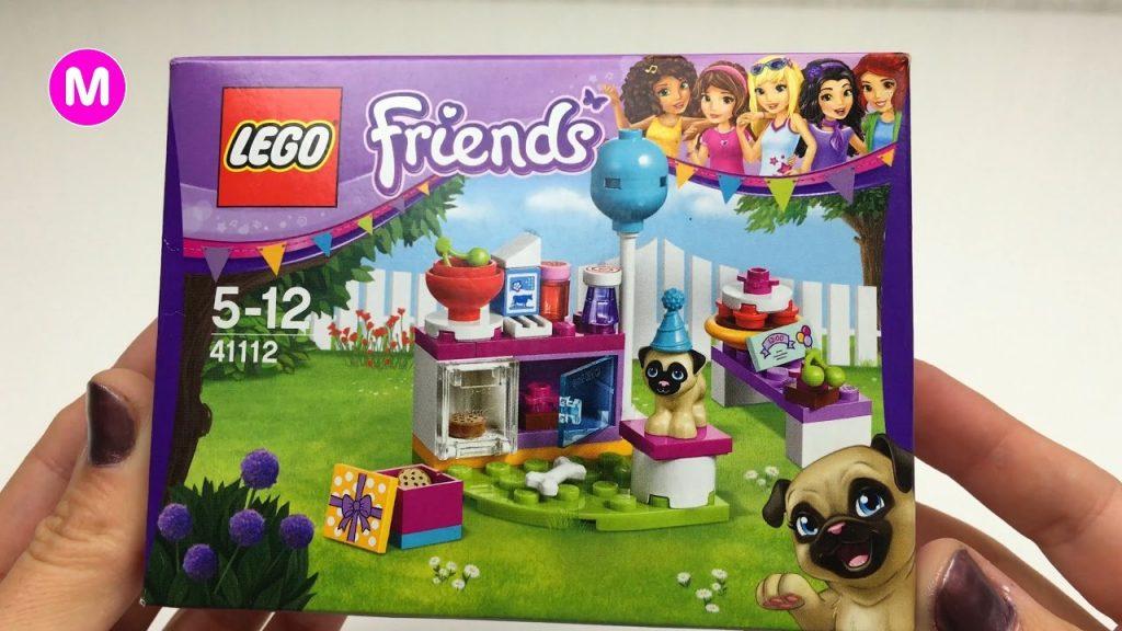 😎 Petite Fille Manina Déballe Lego Friends Jouets 👍
