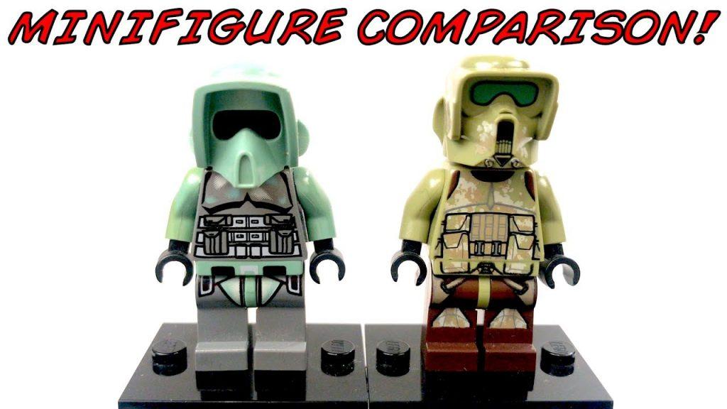 LEGO Star Wars KASHYYYK TROOPER Minifigure Comparison!
