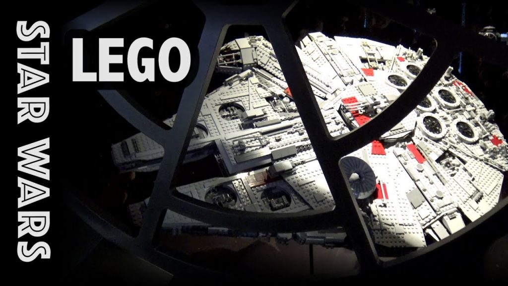 Inside the Star Wars Room at LEGO's Private Museum