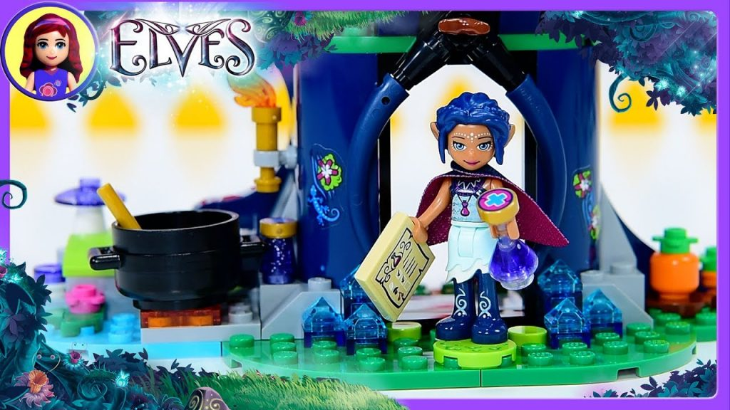 Lego Elves Rosalyn's Healing Hideout Build Review Silly Play Kids Toys