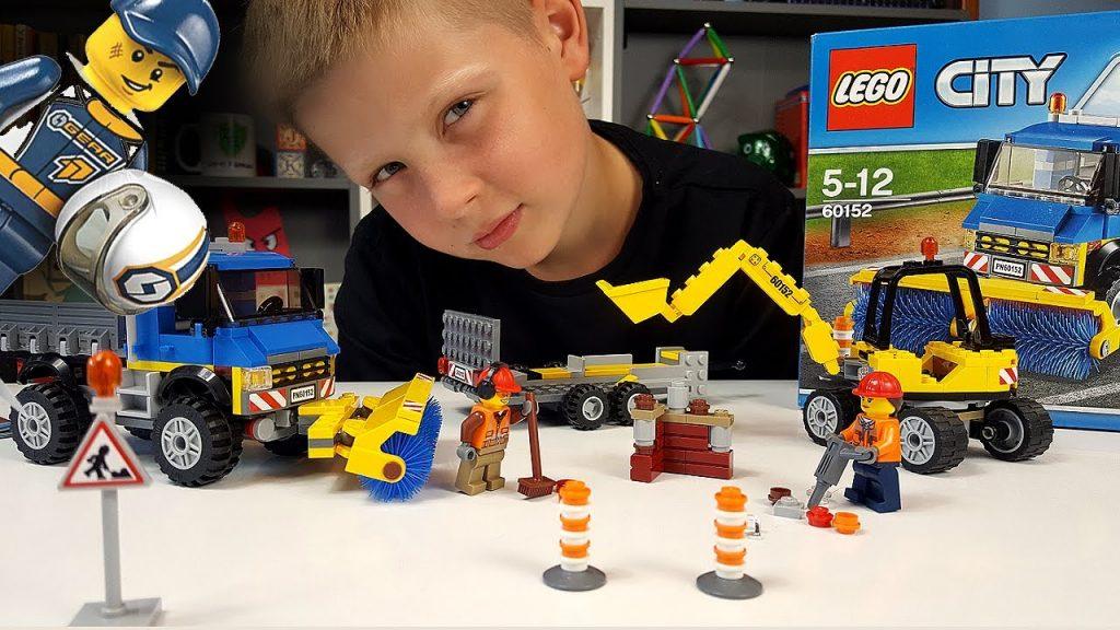 LEGO City – MEGA DRAGSTER – SZCZOTKI i ZMIOTKI