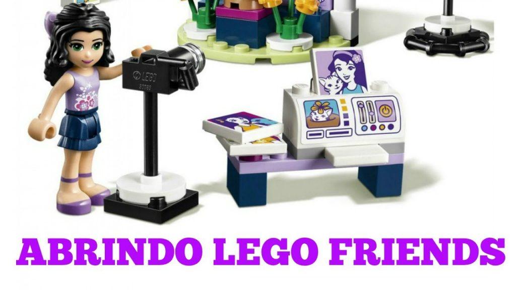 ABRINDO LEGO FRIENDS O ESTUDIO FOTOGRAFICO DA EMMA