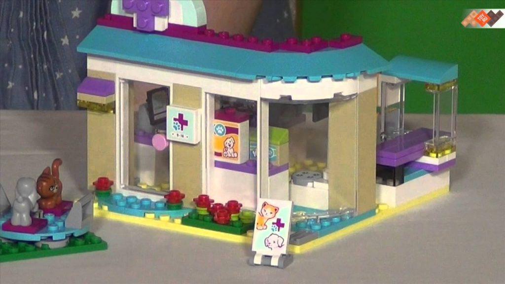 Конструктор Lego Friends 41085 Лего Подружки Ветеринарная клиника – в продаже на TOY.RU