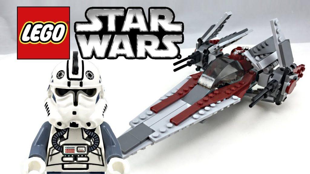 LEGO Star Wars V-Wing Fighter review! 2006 set 6205!