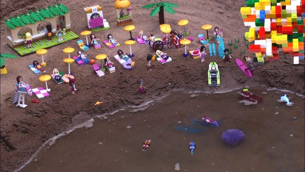 Lego Friends Holidays on the Beach by Misty Brick.