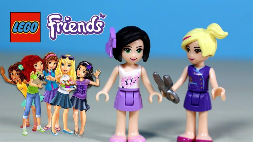 Lego Friends – Emma w salonie fryzjerskim Natashy – Lego Friends 41093