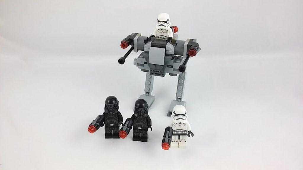 Recenzja – LEGO Star Wars 75165 Imperial Trooper Battle Pack.