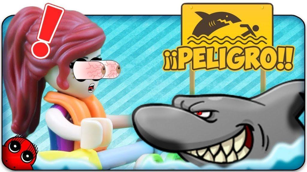 Lego Friends Heartlake Surf Shop- CUIDADO TIBURON!!-Stop Motion