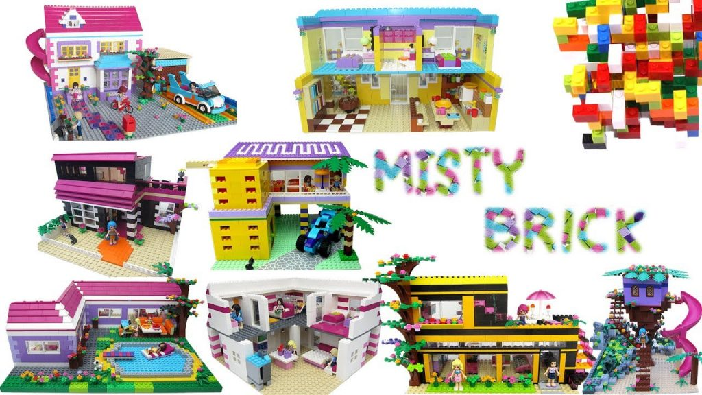 Lego Friends Best Houses Compilation by Misty Brick.