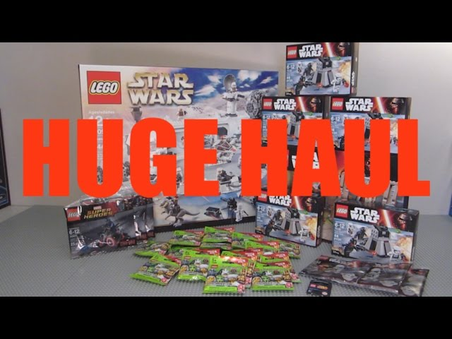 MASSIVE LEGO Star Wars May The Fourth Haul! (LEGO Store, Target, & Toys R' Us!)