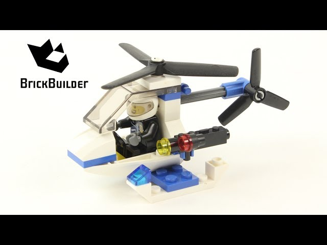Lego City 30014 Police Helicopter – Lego Speed Build