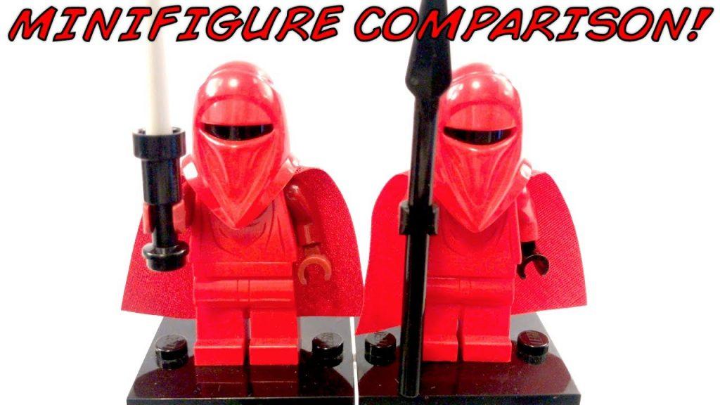 LEGO Star Wars EMPORER'S ROYAL GUARD Minifigure Comparison!