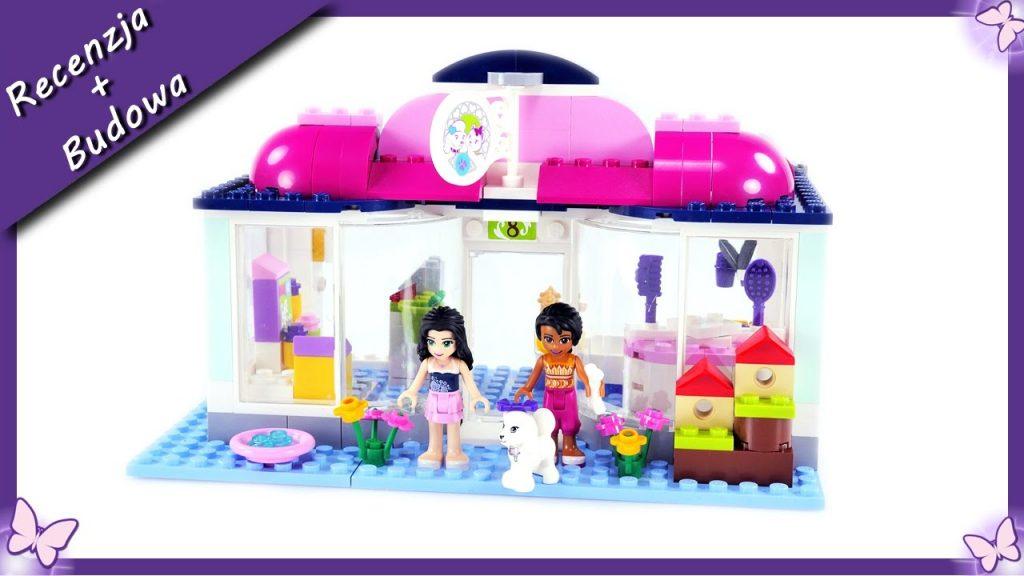 Emma otwiera Salon dla zwierząt w Heartlake – Budowanie klocków Lego Friends41007 4K