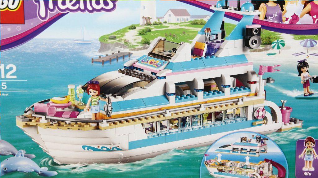Dolphin Cruiser / Jacht 41015 – Lego Friends – www.MegaDyskont.pl